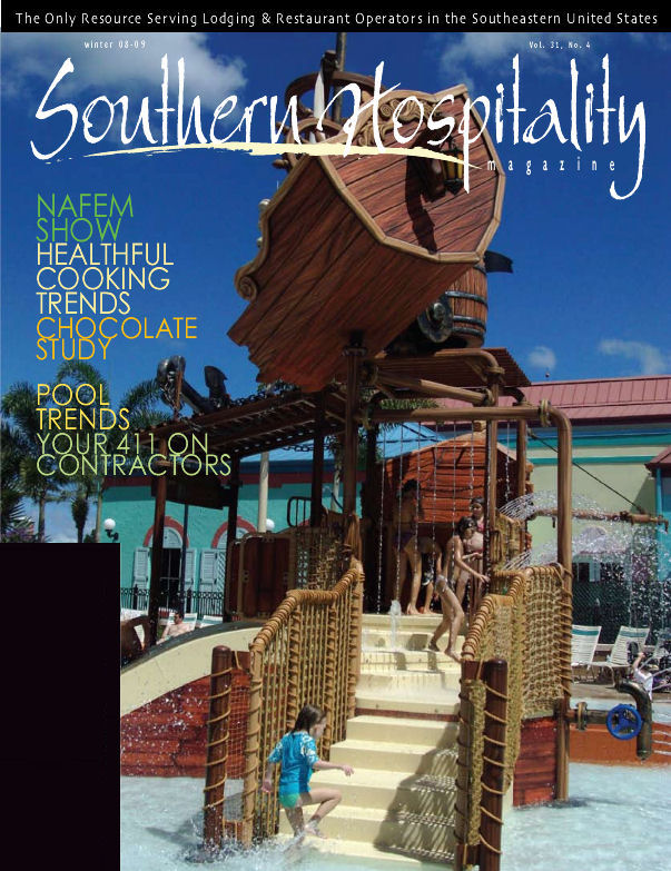 Southern Hospitality Magazine Cover